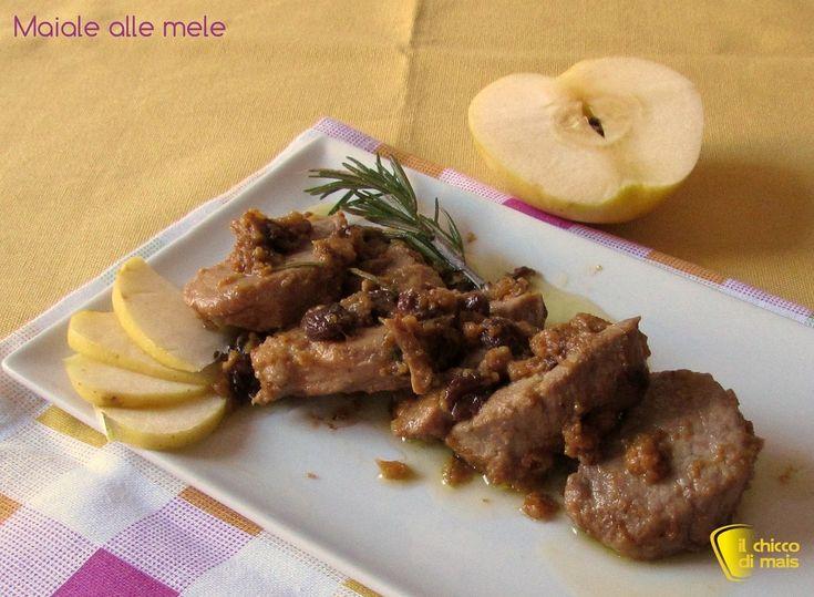 Arrosto di maiale alle prugne (ricetta secondo) | Il chicco di mais