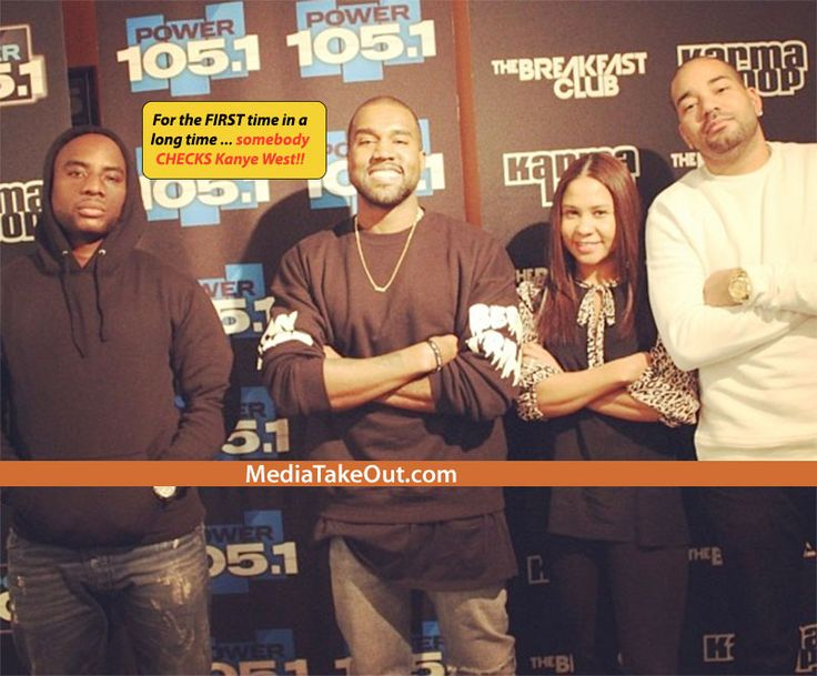 IT HAPPENED!! Kanye West Went To THE BREAKFAST CLUB . . . And CHARLAMAGNE THA GOD Went In . . . Told Kanye West EVERYTHING THAT WE ALL BEEN THINKING!!! - MediaTakeOut.com™ 2013