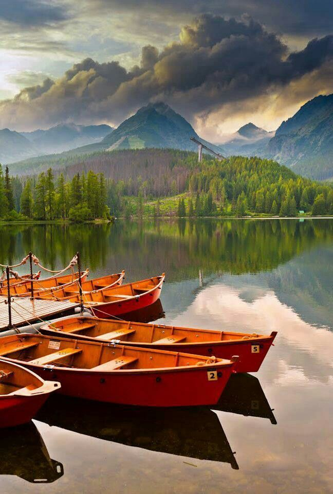 Slovakia...this looks like a painting :) GORGEOUS!