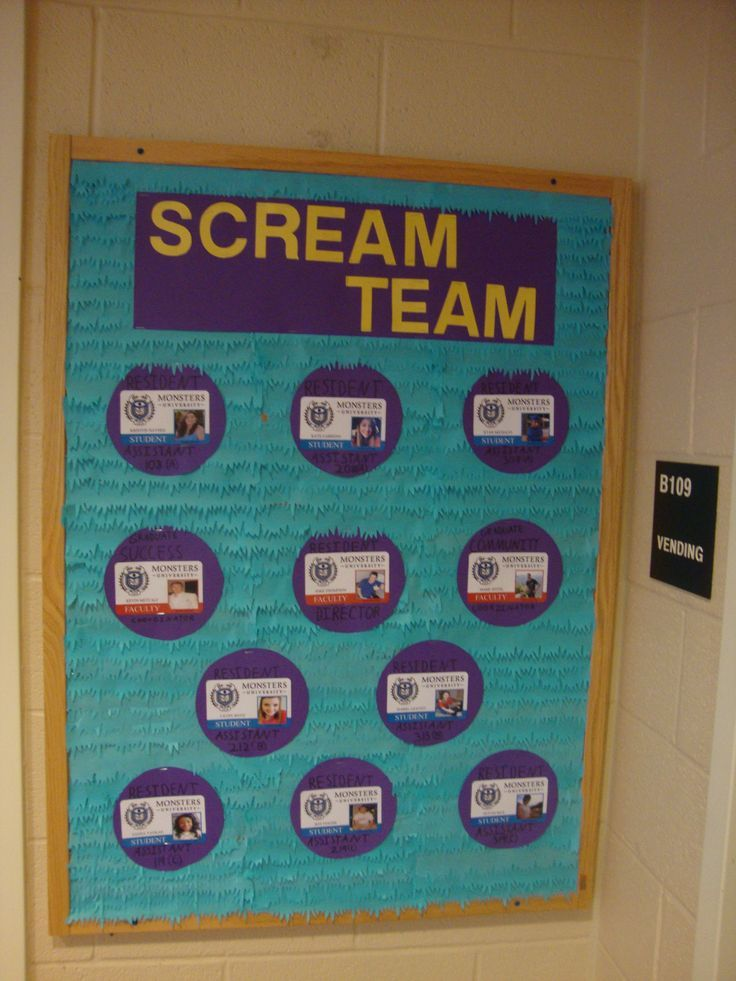 image result for monsters inc classroom decorations