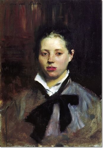 Portrait of a Young Girl - John Singer Sargent