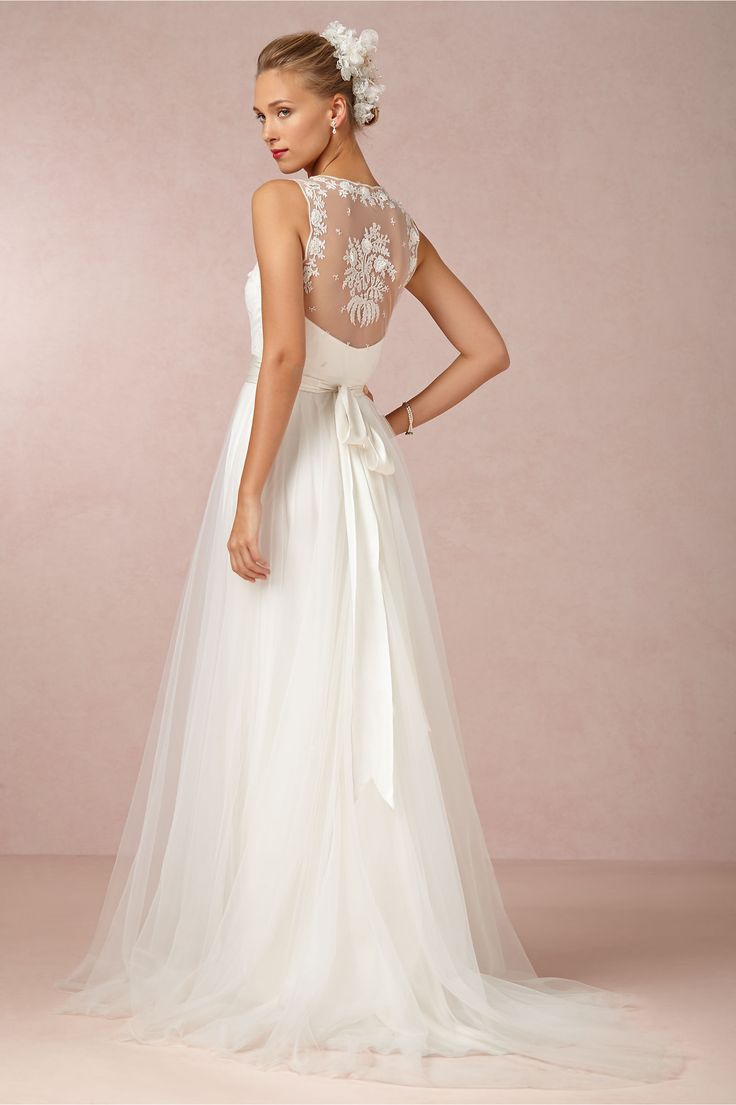 Onyx Gown Wedding Dress has the most beautiful back