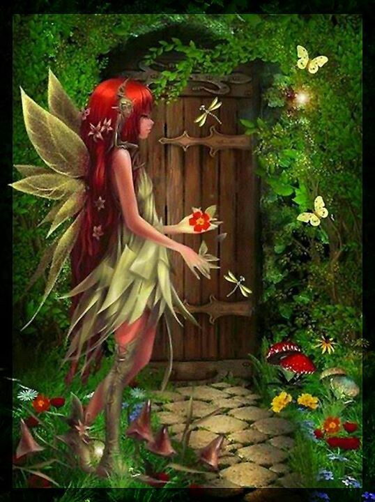 Hello my dear fairy friends!!! I am wishing you a Fabulous Fairy Friday so smell the flowers and let all your worries go for there is a fairy knocking on your door ready to take you away to the forest for dancing and singing no worries no cares, may blessings <3