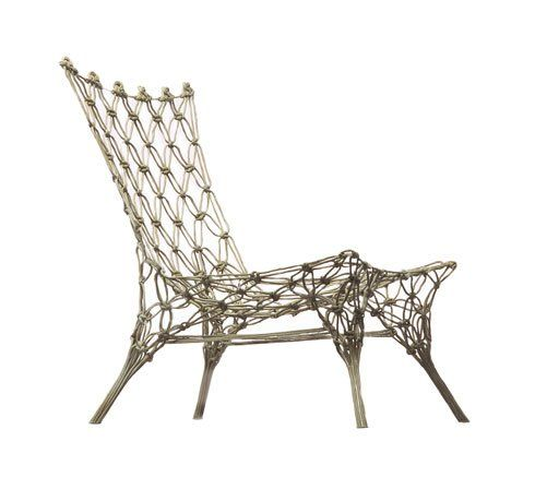 2_Marcel Wanders_Knotted Chair 1996 | Weaving | Furniture ...