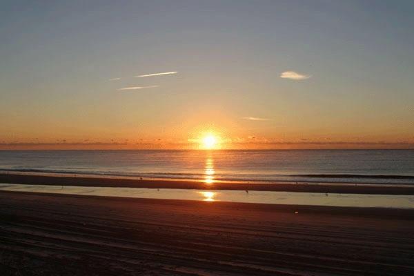 Sunrise at Brigantine's north end