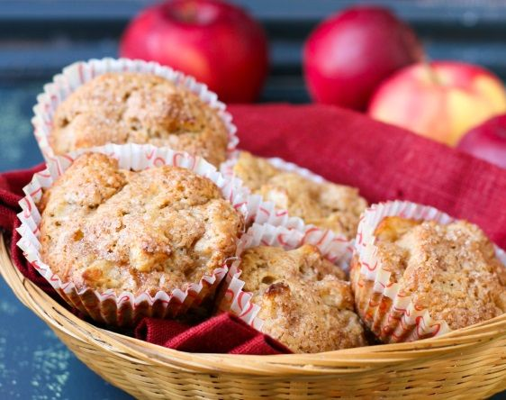 whole wheat muffins apple strudel apple muffins breakfast dishes ...