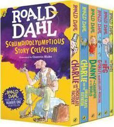 Roald Dahl is such an imaginative writer! No one like him!
