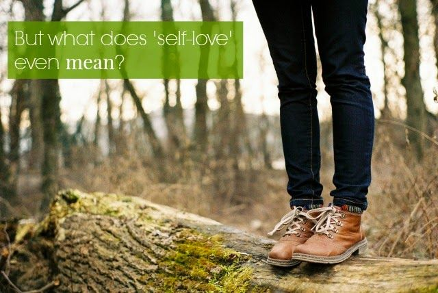 yes and yes: But what does 'self-love' even mean?