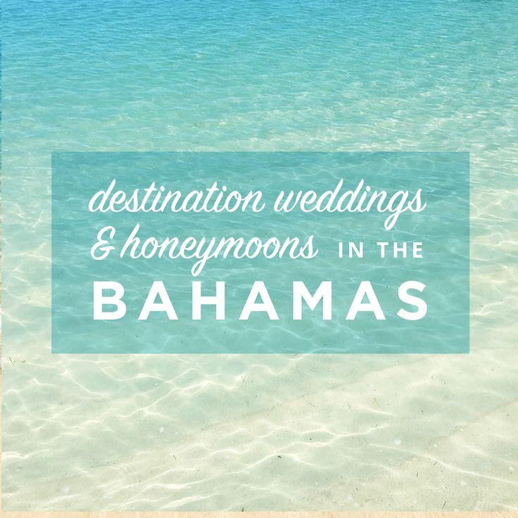 weddings honeymoons in the bahamas