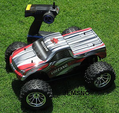 ﹩219.99. Redcat Racing R/C VOLCANO S30 1/10 SCALE NEW MONSTER NITRO RC TRUCK Super Fast!    Type - Trucks, Fuel Source - Nitro, State of Assembly - Ready-to-Go, Scale - 1:10, Gender - Boys  Girls, Fun Factor - 10 of 10 FUNTastic, Shell Color - Shell MAY vary from Pictures, Year - NEW, Product Line - Redcat Racing, Fuel Type - Nitro  Glow Fuel, Required Assembly - Ready to Go/RTR/RTF (All included), Recommended Surface - Off-Road, UPC - 609132480607