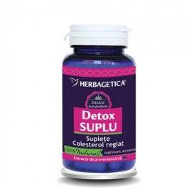 Detox Suplu 30 capsule. Principalul ingredient al acestui produs, o algă brună numităKELP(Fucus vesiculosus), este considerat suplimentul ideal pentru slăbitul constant şi sigur. Administrarea de Kelp duce lacreşterea activităţii glandei tiroide, ceea ce conduce la intensificarea metabolismului. Contribuie la:stimularea activităţiiglandei tiroide,intensifică metabolismul general şi creşterata metabolismului bazal; menţinerea greutăţii corporale normale, reduce proporţia de ţesut…