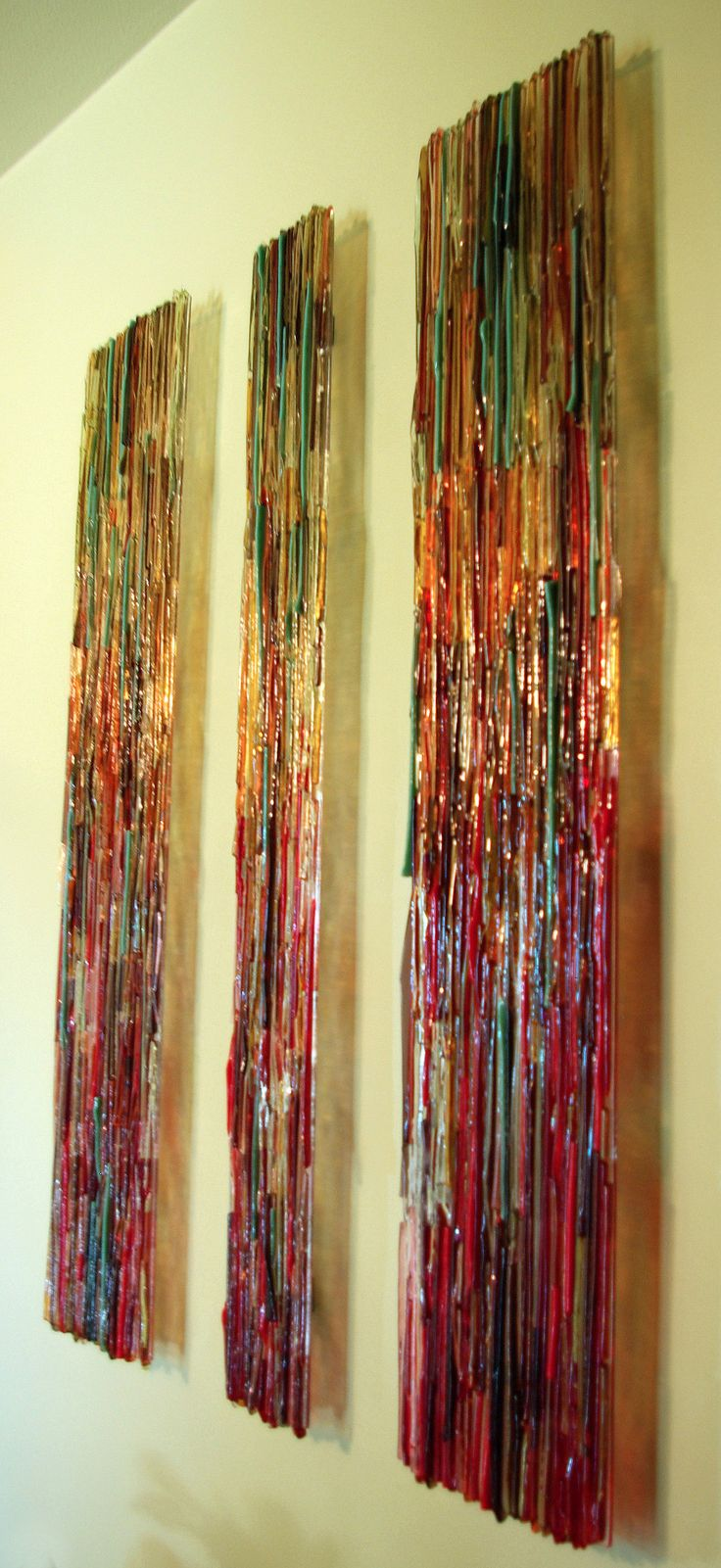25 Best Glass Wall Art Ideas On Pinterest Fused Glass