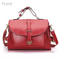 Candy Color Women Crossbody Shoulder Bags Retro Messenger Bags Handbags