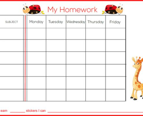 11 best weekly charts images on Pinterest Chore charts, Food - printable behavior chart