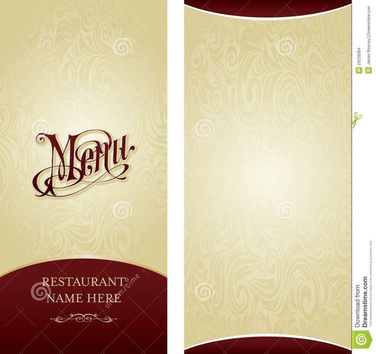 12 best ADJECTIVE MENU PROJECT images on Pinterest Restaurant - restaurant menu design templates