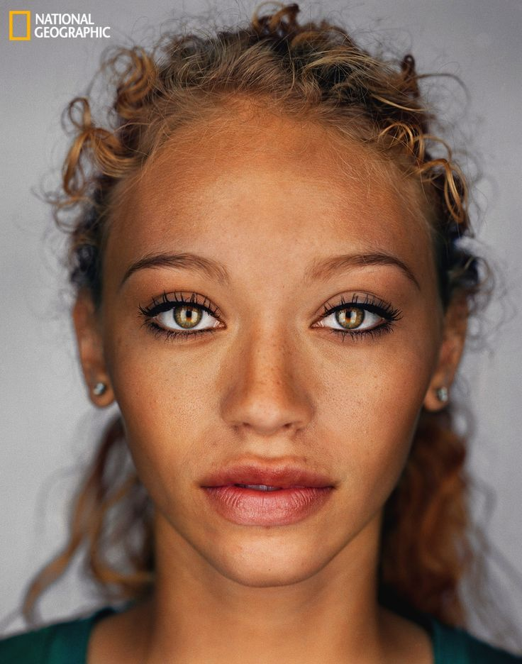 According to National Geographic, this is what the average American will look like in the year 2050. the future is mixed race