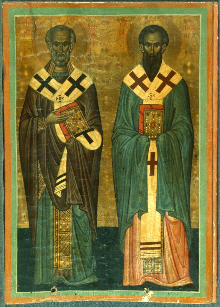 St. Nicholas & St. Basil / Άγιος Νικόλαος & Άγιος Βασίλειος