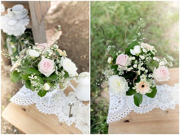 Woodland Bridal Teaparty Vintage Wedding
