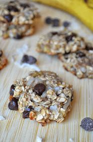 The Savvy Kitchen: Healthy Banana Oatmeal Cookies (Gluten-Free)