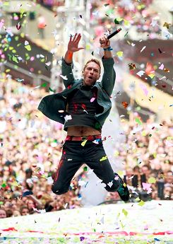 For some reason whenever I hear Coldplay I just get so excited and nervous over nothing.. I LOVE THEM
