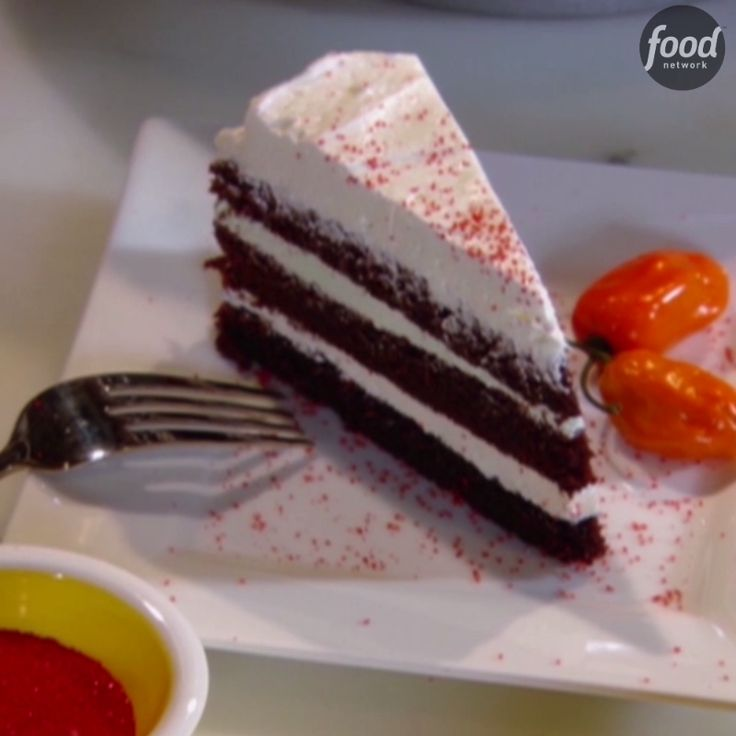 Get dramatic with your desserts by adding fiery habañero chile peppers to contrast an already sweet ice cream cake.
