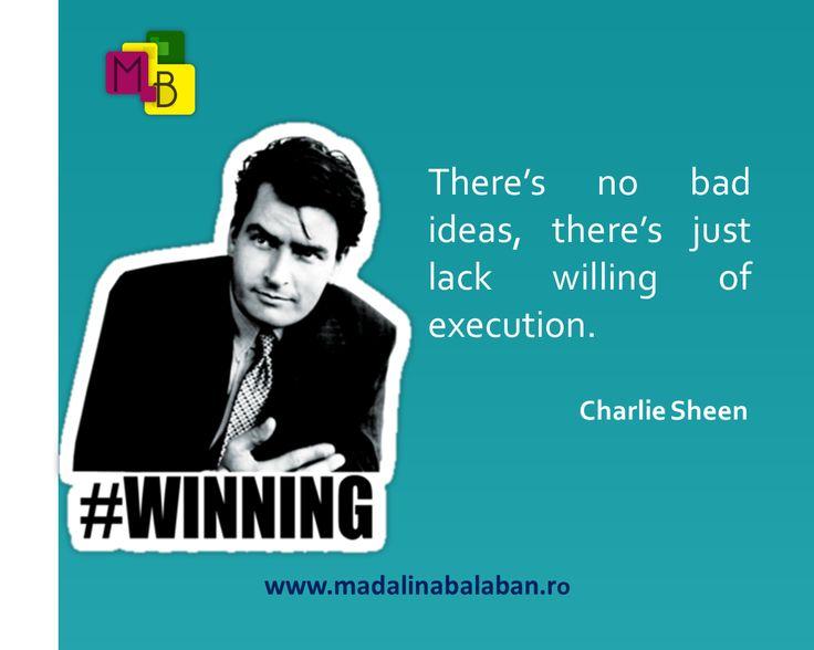 Some ideas can win :-) www.madalinabalaban.ro