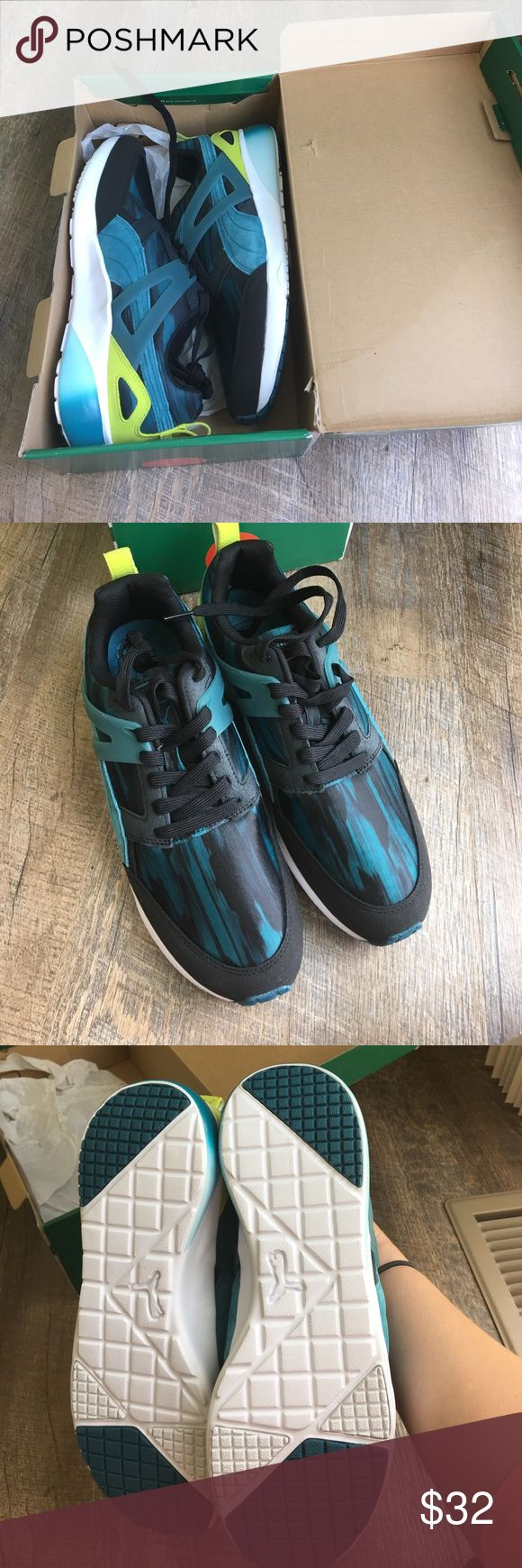 🔸🔸Brand New🔸🔸 Women's April Fast Graphic Puma Tennis Shoes. Never Worn still in the box Puma Shoes Athletic Shoes