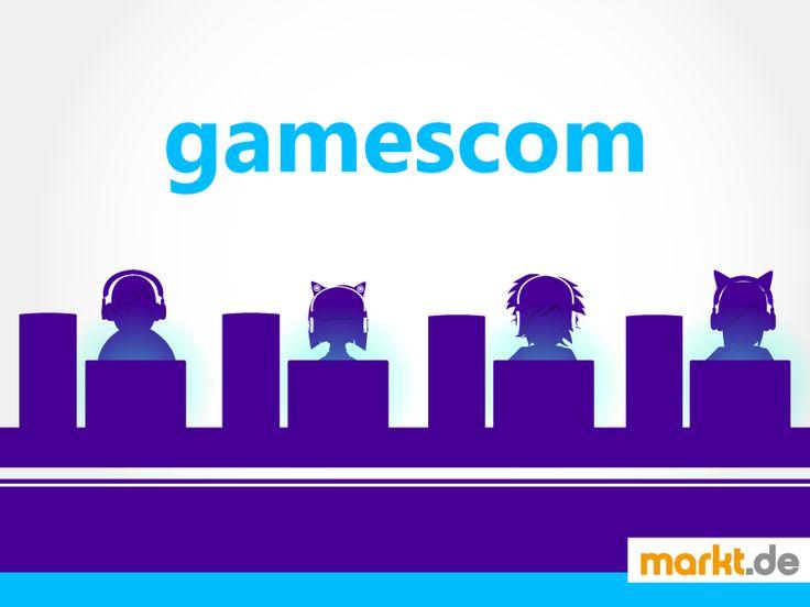Gamescom Köln: Daten, Fakten, Preise   markt.de #konsolen #games #gaming #gamescom #messe #infos