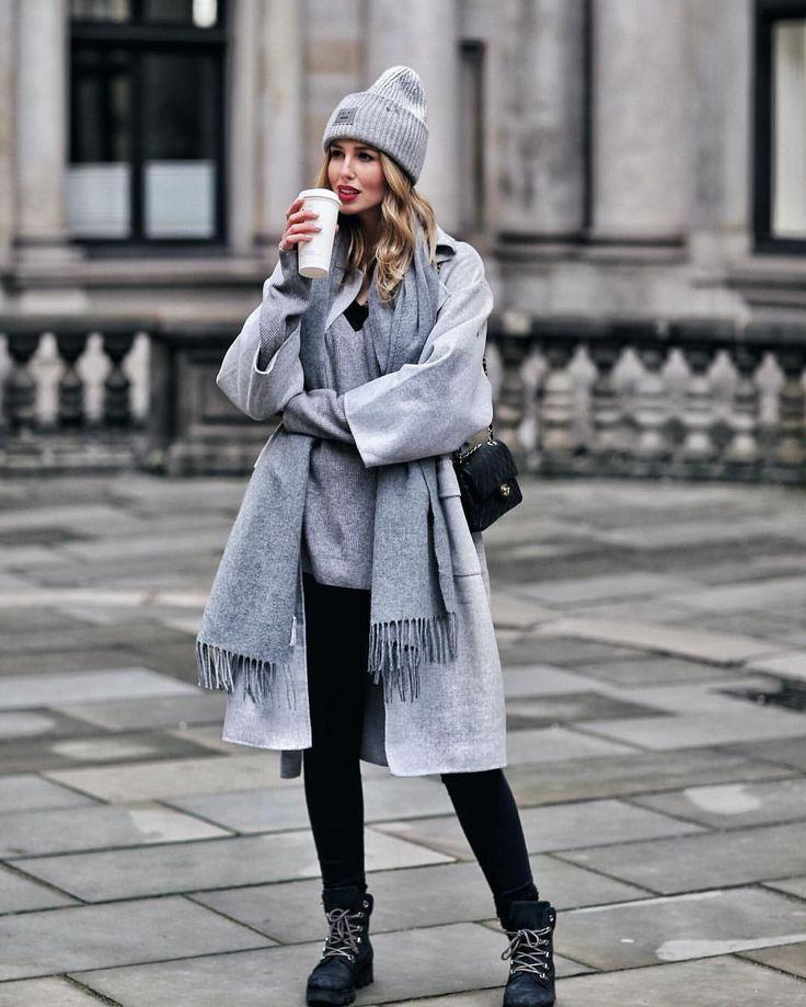 803 vind-ik-leuks, 38 reacties - Maike, Kira, Sonja (@shoppisticated) op Instagram: 'You never go wrong with an all grey look 🖤K @liketoknow.it #liketkit http://liketk.it/2u8Dd…'