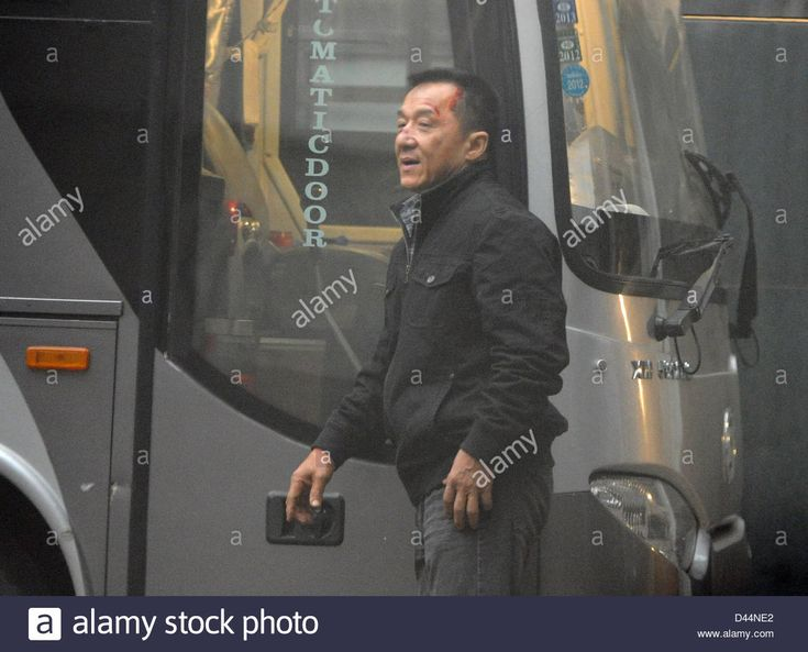 Jackie Chan At Set Of Movie Police Story 2013