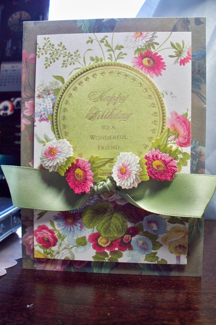 Birthday - Anna Griffin card elements