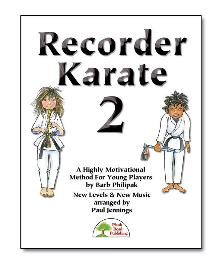 Recorder karate 2- coming in October!!
