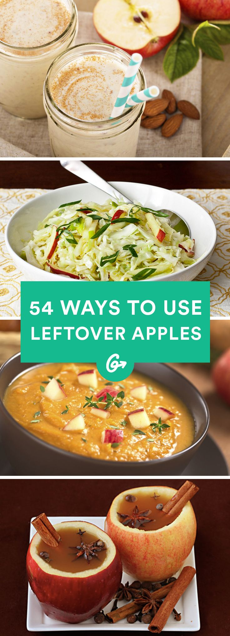 Went overboard at the farmer's market? No worries; we have plenty of ideas for how to get the... #healthy #apple #recipes http://greatist.com/health/surprising-ways-use-leftover-apples