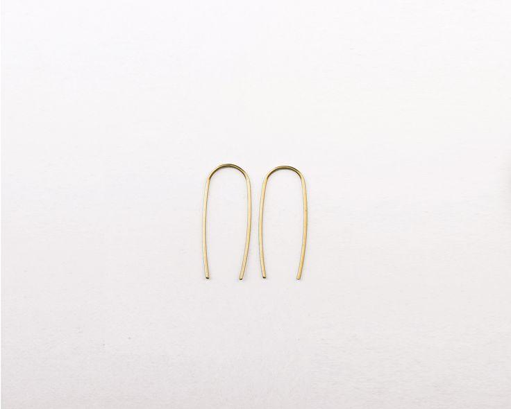 The Mama Kin / fishbone U earrings