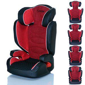 Siège Auto Neptun Rouge 15 – 36 kg – Groupe 2 3 grandit avec les enfants, ECE R44/04: Siège Auto NEPTUN groupe 2 et 3 de 15-36 kg – grandit…