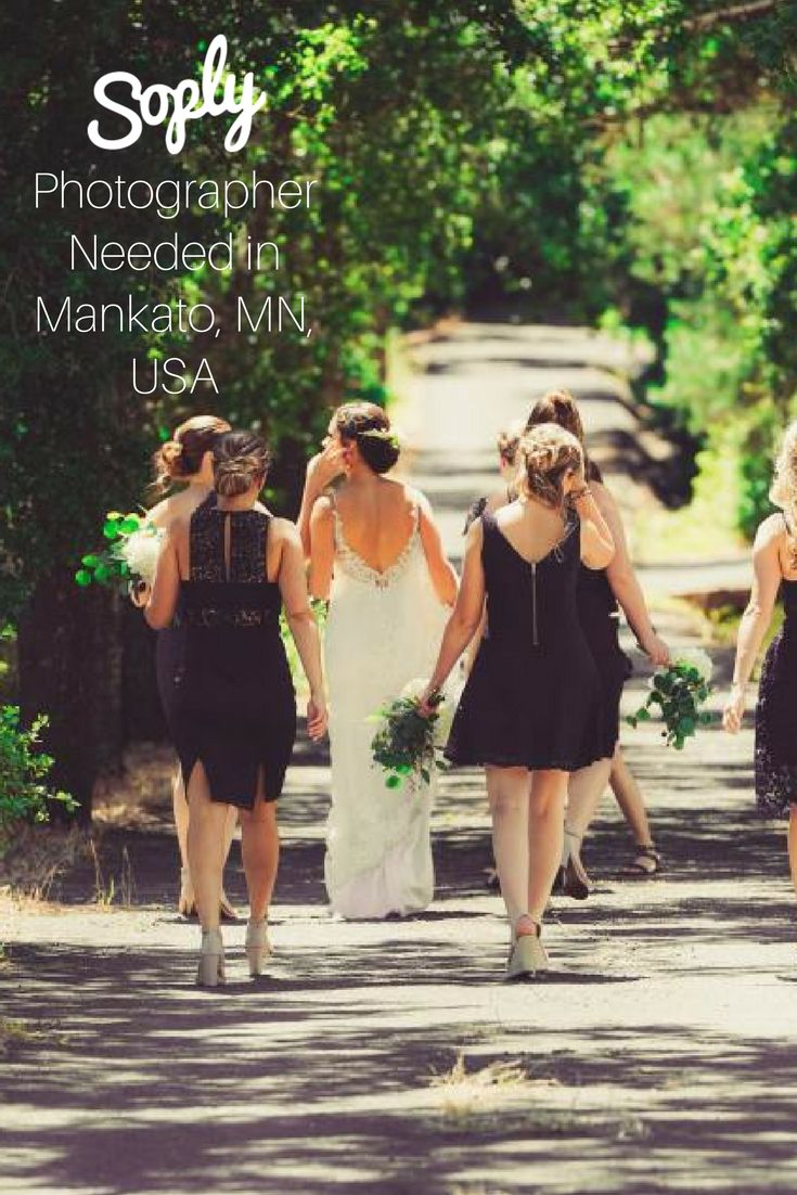 #Wedding #photographer needed in #Mankato, #Minnesota, USA on October 14, 2017. The #client would like two #photographers for the whole day. See the #photography job and apply by clicking the pin!