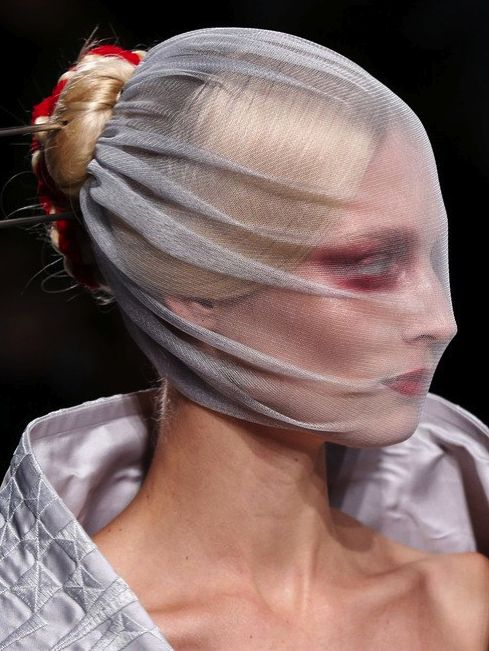 GARETH PUGH 2013 - love the fabric on the face |Pinned from PinTo for iPad|