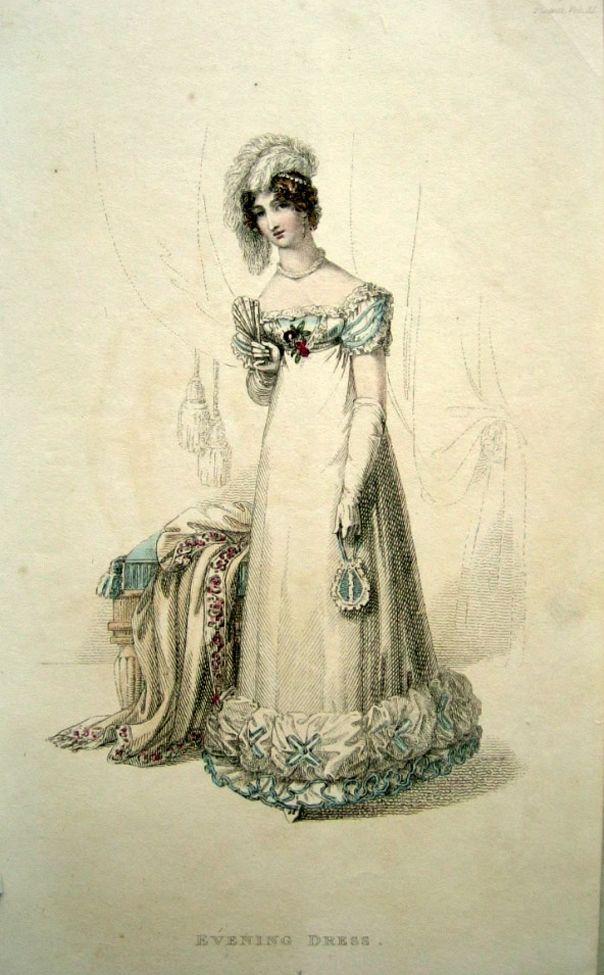 1821 - Ackermann's Repository Series 2 Vol 11 - Feb Issue