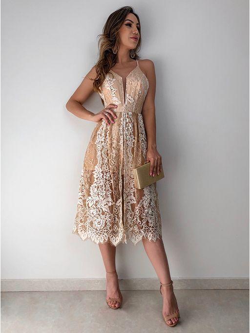 de21d047d Vestido Midi Renda Izabela | someday | Vestidos, Vestido de festa ...