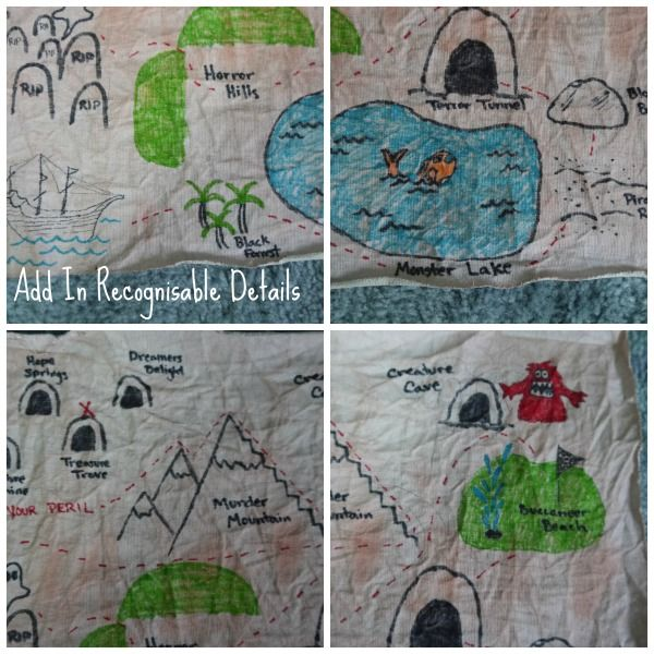 How to Create a Children's Treasure Map (With images ...