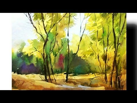 What A Beautiful Landscape By Rahul In Milind Mulick Way