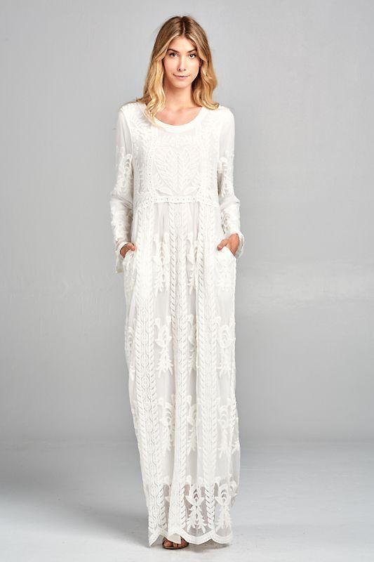 8a794f18de94f Dresses – Shop Orange Creek | dream wedding stuff in 2019 | White ...