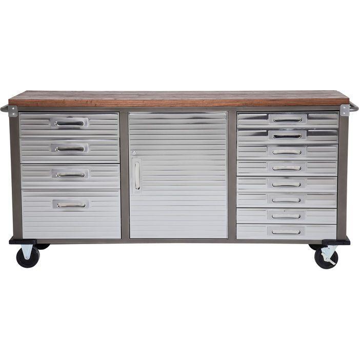Sideboard Efficiency Wood 1 Door 12 Drawers - KARE Design