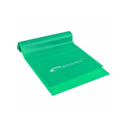 guma Spokey RIBBON fitness hard zelená
