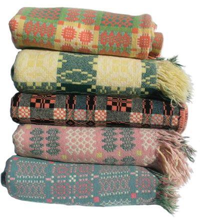Welsh blankets: Colors Combos, Winter Colors, Welsh Blankets, Interiors Design, Textiles, Colors Palettes, Cozy Blankets, Ellen Album, Jen Jones