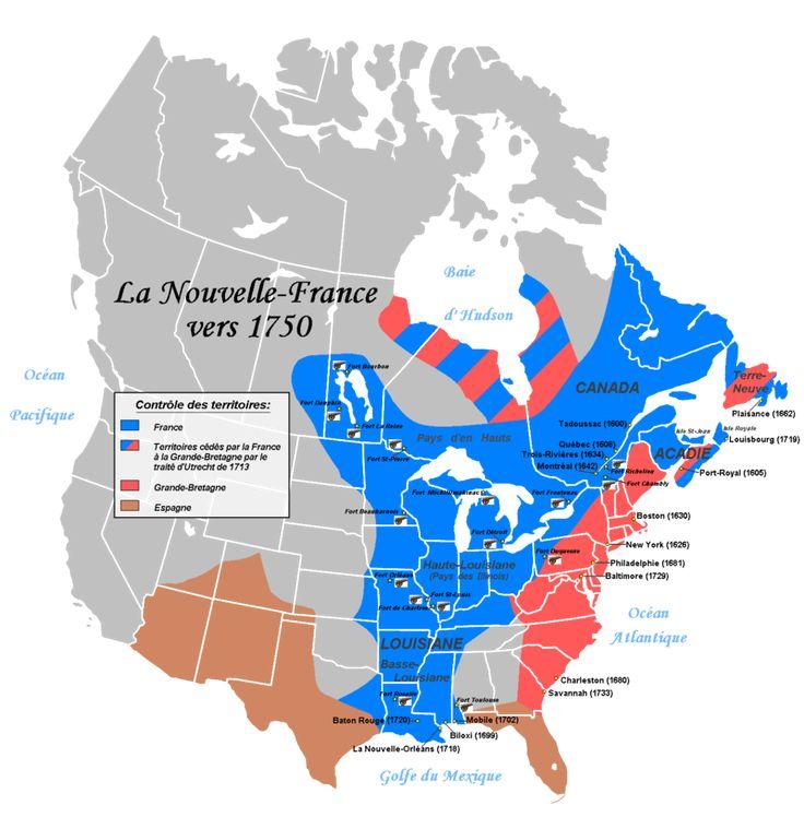 Louisiane.La Nouvelle France en 1750. - 14. A. CROZAT: .. de gâcher ainsi le formidable atout commercial qu'est le Mississippi. Epuisé par ses avances, dépassant 1 250 000 livres, trompé par son espoir d'ouvrir des communications avec le Mexique, il accepte l'idée que la Louisiane n'est pas une entreprise rentable, d'autant que ses affaires sont plus florissantes à St-Domingue.
