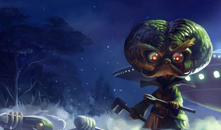 Alien Invader Heimerdinger | League of Legends