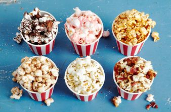 Flavored Popcorn!!!  http://www.homemadesimple.com/en-us/foodandrecipes/pages/flavored-popcorn-recipe-ideas.aspx