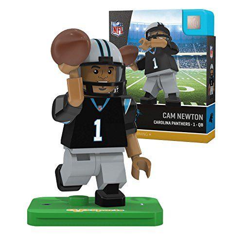 NFL Carolina Panthers Gen4 Limited Edition Cam Newton Mini Figure, Small, White
