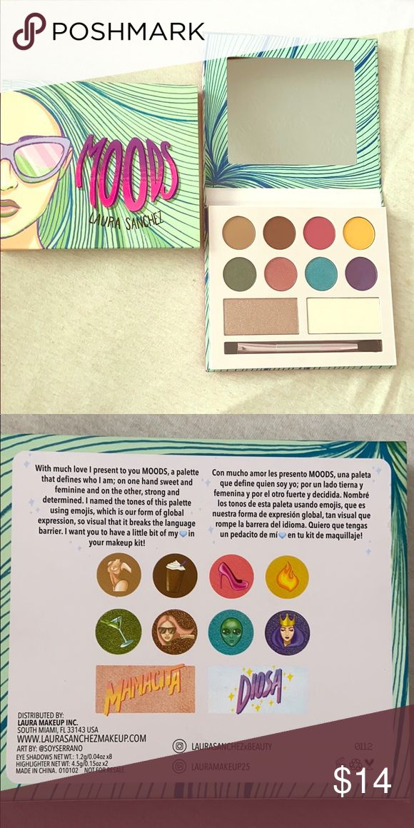 Moods Eyeshadow Palette by Laura Sanchez in 2020